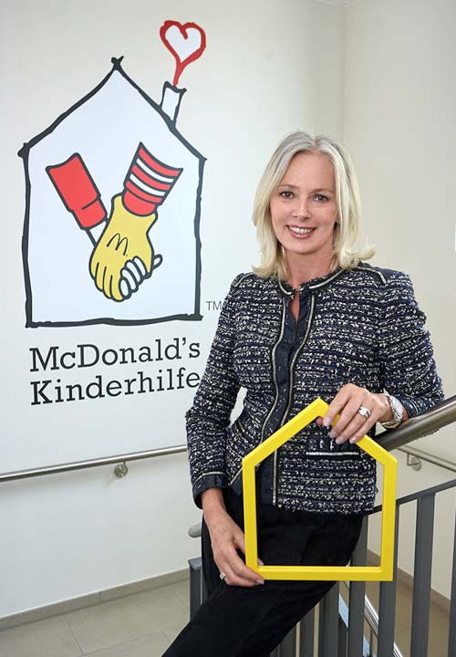Petra van Bremen for Ronald McDonald House Hamburg
