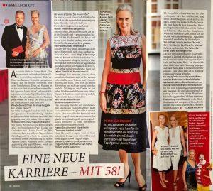Petra in Frau im Spiegel Magazine