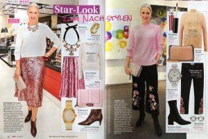 Petra in Meins Magazine