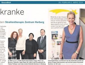 Hamburger Abendblatt - Jugend Seminar für Krebspatientinnen ( 12 - 21 Jahr) 02-2016