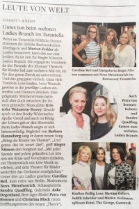 Die Welt - Charity Ladies Brunch