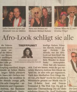 Petra in Welt am Sonntag