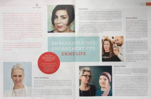 Petra in DKMS-LIFE YOU Magazin