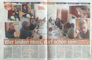Hamburger Morgenpost - Petra's ehrenamtliches Engagement für DKMS-LIFE