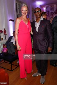 Petra with Wesley Snipes