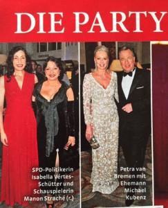 Frau im Spiegel - Hamburger Presseball