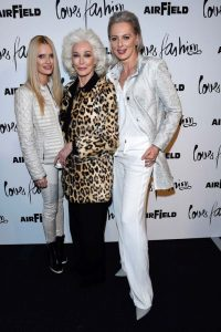 Petra with Carmen Dell'Orefice